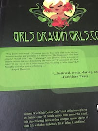 Girls drawing girls book