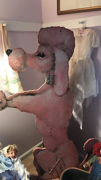pink wooden poodle standee Fairfax Station, 22039