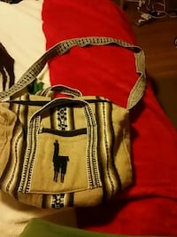 brown and black leather crossbody bag Pittsburg, 94565