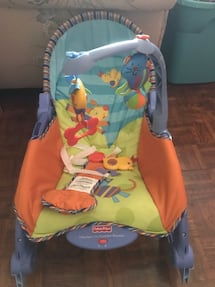 Fisher price from baby to toddler rocker