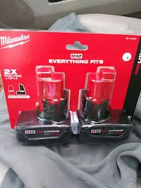M12 red lithium xc 3.0 2pack Portland, 97220