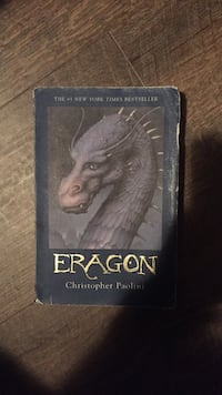 Eragon by Christopher Paolini book White Rock, V4B 2C8