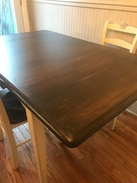 rectangular brown wooden dining table Toronto, M6A 3B5