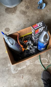 Moped carb and oil etc
