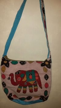 white, red, and blue floral crossbody bag San Antonio, 78212