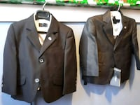two brown and black notch lapel suit jackets Calgary, T2C 1Y8