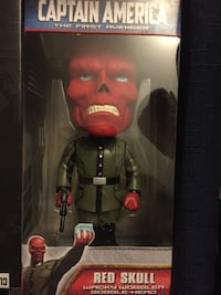 Red skull Bobblehead