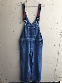 Vintage DKNY overalls size 28-32 ish fit capable  New Westminster, V3M 1B9