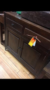 brown wooden 3-drawer chest Toronto, M6P 2H5