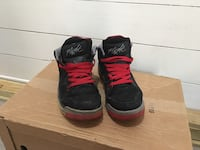 pair of black-and-red Nike basketball shoes Gulfport, 39503