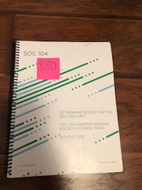 SOC 104- RETHINKING SOCIETY IN THE 21ST CENTURY Mississauga, L5V 1J2