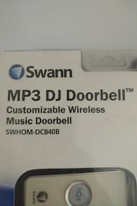 Swann mp3 personalized doorbell ringer Vancouver