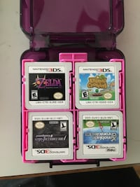 Monster Hunter 3ds with 16 games + 2 games downloaded (negotiable) Redmond, 98052