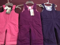 All 3 New girl's Snowsuit