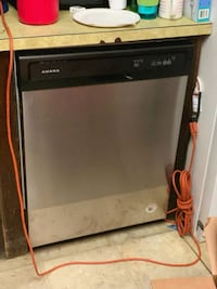 Amana stainless steal dishwasher 219 km