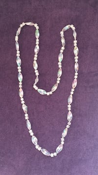 white and brown beaded necklace Montgomery Village, 20886