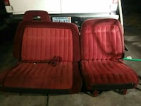 red Chevy truck seat set Las Vegas, 89106