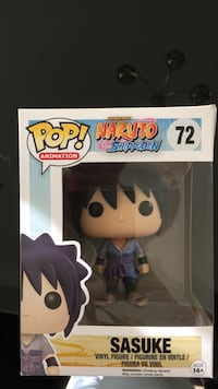 Sasuke , NARUTO pop figure  Reston, 20190