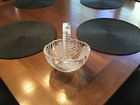 Two round clear glass bowls Colorado Springs, 80907