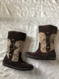 NEW COACH Brown Boots (size 8-1/2) Toronto, M3H 3B1