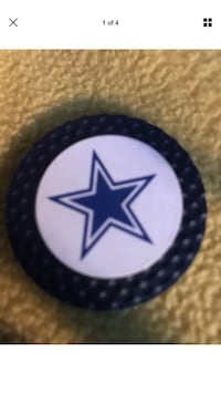 NFL Dallas Cowboys Magnetic Poker Chip with Removable Golf Ball Marker Sioux Falls, 57108