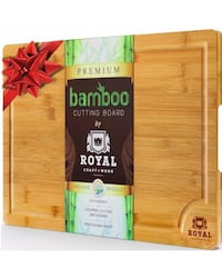 Bamboo Cutting Board BRAND NEW XL Size