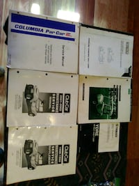 6 golf cart repair books Hedgesville, 25427