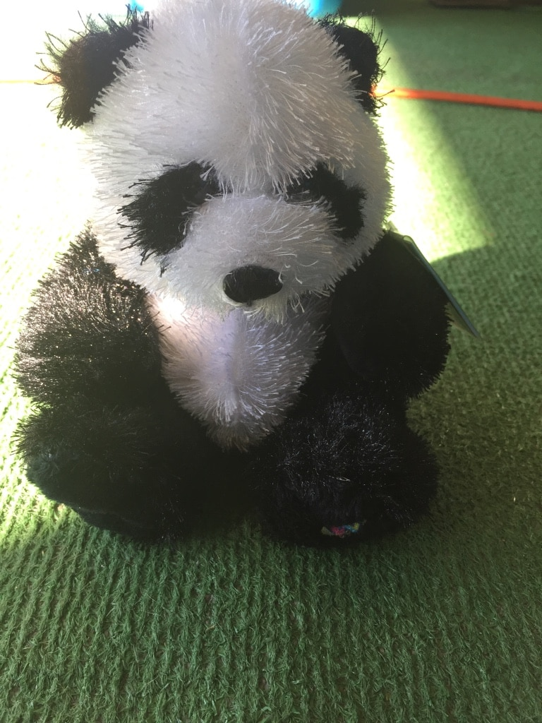 panda plush toy, used for sale  Oak Forest