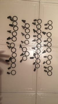37 clips for curtain rod  Montréal, H1E 4R1