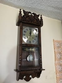 Vintage Charles 31 Day Wall Clock With Date & Week Toronto