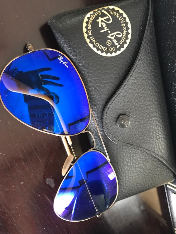 Ray Ban Mirror Blue
