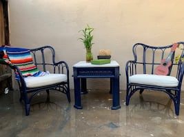 Patio Chairs and Table Set