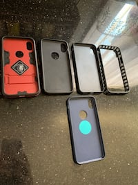 five assorted-color smartphone cases Los Angeles, 90047