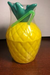 Pineapple cup with a straw Ottawa, K2A 3M3
