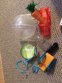 Assorted Hamster Toys
