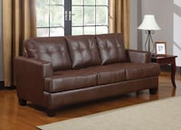 *NEW* Leather Sleeper Sofas, Ebony, Mocha, or Vanilla Cream Charlotte, 28216