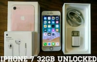 Iphone 7 UNLOCKED 32GB (Like New) Rose Gold  Arlington