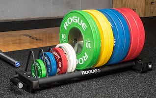 ROGUE FITNESS COMPETITION BUMPER PLATE CART