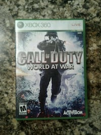 Xbox 360 Call of Duty World at War case 43 km