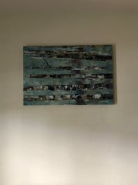 black and white abstract painting Port Charlotte, 33954