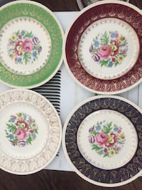 Solian Ware 777 England  $30 Each (total 10 plates)