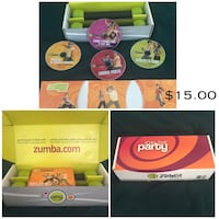 Zumba Fitness DVDs & Weights Frederick, 21702