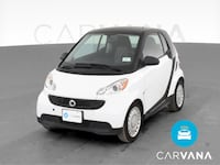 2013 smart fortwo coupe Pure Hatchback Coupe 2D White