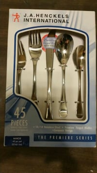 Henkel International 45 pc Flatware Set  Hyattsville, 20783