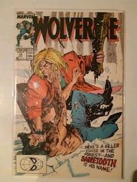 Marvel comic number 10 wolverine sabertooth