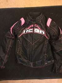 Women's icon motorcycle jacket size small Rockville, 20850