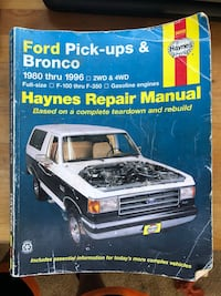 2 Repair manuals make me an offer thanks guys Lakewood, 98433