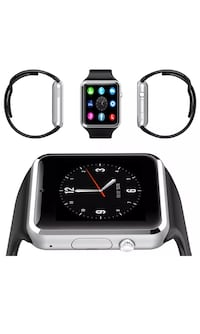 New smart watch works with iPhone Samsung lg htc bnib  Toronto, M9L 2H8