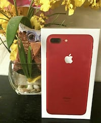 producto rojo iPhone 7 plus box Madrid, 28019
