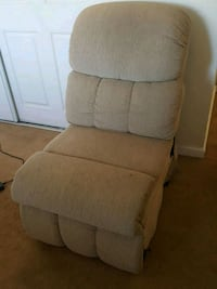 brown fabric padded glider chair 2396 mi